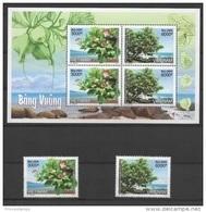 Vietnam (2016) - Set + Block -  /  Tree - Arbre - Fleurs - Arbol - Trees - Fleurs - Flowers - Fiori - Trees
