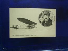 PIERRE LANDRON SUR MONOPLAN DE PISCHOFF ETAT BON - Aviateurs
