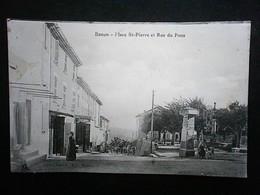 BANON PLACE ST PIERRE ET RUE DU POUS - Autres Communes