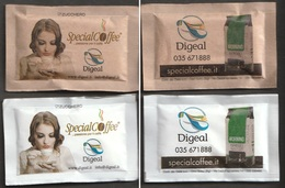 2 Bustine Di Zucchero Da Collezione - Special Coffee - Digeal (vedi Foto) - Sugars