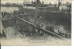 Guerre 1914-Arrivée Des Troupes Anglaises Au Port - War 1914-18