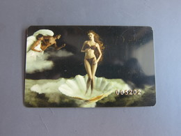 Diana Underwear VIP Card, Girls On Shell - Télécartes
