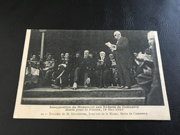 Inauguration Du Monument Aux Enfants De COMMERCY Morts Pour La France, 13 Mai 1923 - 10 - Discours De M. Grosdier - Commercy