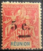 REUNION                 N° 53                  NEUF* - Réunion (1852-1975)