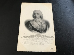 226 - BARRAS (Paul Jean François Nicolas, Vicomte De) 1755-1829 - Hommes Politiques & Militaires