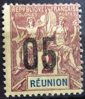 REUNION                 N° 72                  NEUF* - Réunion (1852-1975)