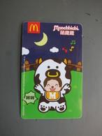 Mc Donald's Promotion Card, Cow(backside With Picture Of Coca Cola) - Télécartes