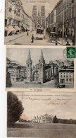 Lot De 100 Cpa De France (Nombreuses Petites Animations) - Cartes Postales