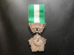Medaille D'Honneur Collectivités Locales 1945-60 Grand Module - France