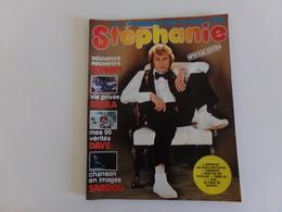 """Revue """" Nouveau Stéphanie """" N° 36, 1977, Sheila, Eric Kendy, Ringo, Dave ... - People"""