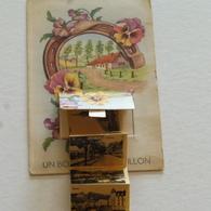 UN BONJOUR DE BOUILLON - Carte à Système  - Envoyée - Bouillon