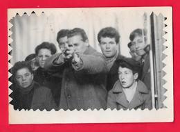 GIOSTRA - LUNA PARK - TIRO A SEGNO - TIRO AL FUCILE - SHOOTING STAND TIR A LA CARABINE - FOTO ORIGINALE - Fotografia