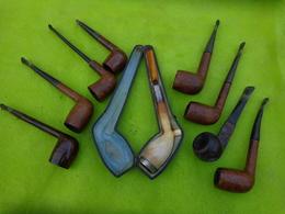 Lot De 9 Pipes Matiere A Identifier -3- - Unclassified