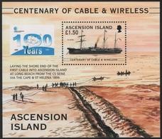 Ascension 1999 - Mi-Nr. Block 39 ** - MNH - Schiffe / Ships - Ascension