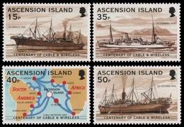 Ascension 1999 - Mi-Nr. 806-809 ** - MNH - Schiffe / Ships - Ascension