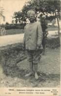 GUERRE 14-18  - INFANTERIE INDIGENE - TENUE DE CORVEE - Guerra 1914-18