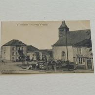 CORBION - Grand Place Et L'Eglise - Non Envoyée - Bouillon