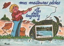 Mes Meilleurs Peches Je Les Fais Toujours A Pont De Poitte - France