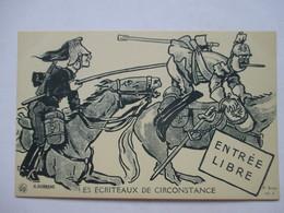 AURRENS  -   LES ECRITEAUX DE CIRCONSTANCE  -   ENTREE LIBRE        TTB - Aurrens