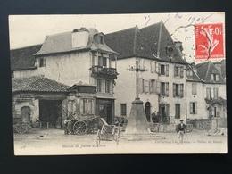 CPA 1908 Réparation De Charrettes Et Photographe Posant Devant Maison De Jeanne D'Albret - France