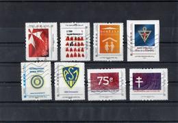 Lot De 8 Collectors Oblitérés - France