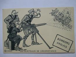AURRENS  -   LES ECRITEAUX DE CIRCONSTANCE  - BONBONS  ANGLAIS           TTB - Aurrens