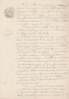 VP 1 FEUILLE - 1852 - OBLIGATION - RUFFIEU - PROULIEU - ST RAMBERT - BELLEY - HAUTEVILLE - MORGELLUR - Manuscrits