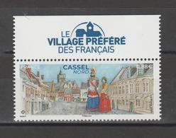 """FRANCE / 2019 / Y&T N° 5336 ** : Cassel (Nord) Avec Vignette """"villagé Préféré"""" - Gomme D'origine Intacte - France"""