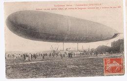 Cpa Dirigeable Commandant Coutelle   1913 - Cartes Postales