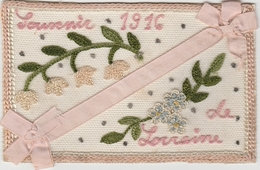 Souvenir De Lorraine 1916 . - Ricamate