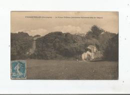 FOUGUEYROLLES (DORDOGNE) LE VIEUX CHATEAU (ANCIENNE RESIDENCE DES DE SEGUR) - France