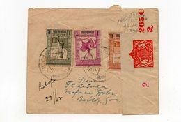 !!! PRIX FIXE : INDE PORTUGAISE, LETTRE DE 1942 POUR BOMBAY AVEC CENSURE ANGLAISE - Inde Portugaise