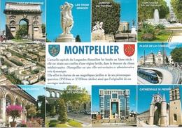 34 - MONTPELLIER - Capitale Du LANGUEDOC-ROUSSILLON - 10 Vues - Cpm - Vierge - - Montpellier