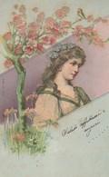 Cartolina - Postcard /   Viaggiata - Sent / Donnina - Mujeres