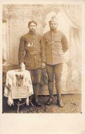 Madagascar - Deux Poilus Malgaches En Alsace, Année 1919 - CARTE PHOTO. - Madagaskar