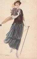 Cartolina - Postcard / Non   Viaggiata - Unsent / Donnina - Mujeres
