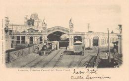 Paraguay - ASUNCION - Estacion Central Del Ferro Carril - Ed. J. Quell. - Paraguay