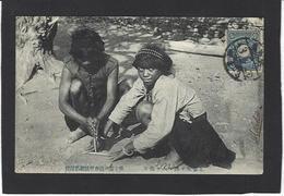CPA Taïwan Types Ethnic Formosa Formose TAIWAN Circulé - Formosa