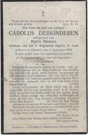 Derkinderen Carolus (gesneuveld -kasterlee 1886-- Buggenhout 1914) - Religion & Esotérisme