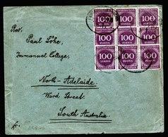 A6243) DR Infla Brief Widdershausen 31.07.23 N. North Adelaide / South Australia - Deutschland