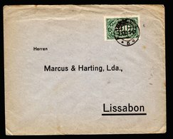 A6244) DR Infla Brief Bremen 02.05.23 N. Lissabon / Portugal - Deutschland