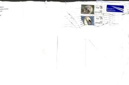 POSTA AEREA . IRLANDA . BUSTA GRANDE FORMATO (22 X 32) . ANNO 2015 - Storia Postale