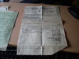 A Hartleben Buchhandlung Wien 1922 Interims Rechnung - Autriche