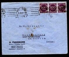A6245) DR Infla Brief Hamburg 15.03.23 N. Whitechurch / Ireland - Deutschland