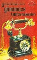 TURQUIE Carte Magnétique Plastique Alcatel    Old Tél  Ericsson 1892    60 Unités De 11.2000 - Telefoni