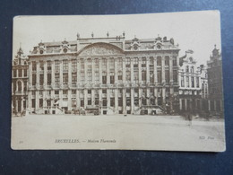 19948) BRUXELLES MAISON FLAMANDE VIAGGIATA 1910 - Monumenti, Edifici