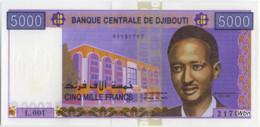 Djibouti 5000 Francs (P44) -UNC- - Djibouti