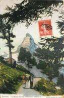 SUISSE  -  ZERMATT - LE MONT CERVIN - MATTERHORN - VS Valais