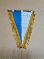 Pavillon Tissu Du Royal Club Nautique Sambre & Meuse , Section Voile, Date Des Années 70. Très Bonne Qualité. - Rowing