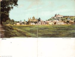 Ciudad De Mexico - Villa De Guadalupe - Double Postcard - Publ. J. Granat. - Mexique